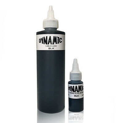Dynamic Black Tattoo Ink - Original Dynamic Lining & Shading Tattoo Ink