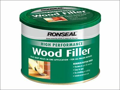Ronseal - High Performance Wood Filler White 550g - 35305