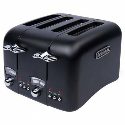 Toaster, Delonghi Toaster Argento ONLY £34.99!! RRP £75 CT04BK