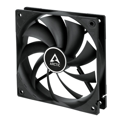 Arctic F12 Silent (120mm) 3-Pin 120mm 12cm Case Fan - 38.6CFM at 20.5dBA