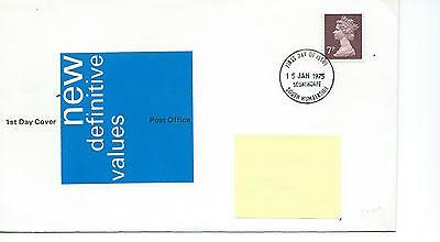 wbc. - GB - ROYAL MAIL FIRST DAY COVER - FDC - DEFINITIVES -1973- 7p value