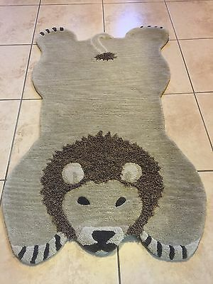 Pottery Barn Kids Lion Rug