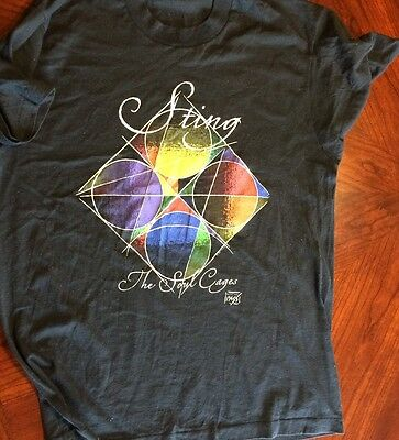 The Soul Cages by Sting T-shirt Lg