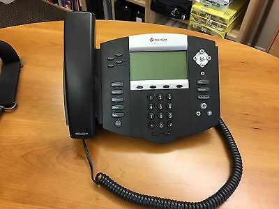 Polycom Soundpoint IP 550 VoIP SIP Phone Telephone PoE (2200-12550-001) - NEW