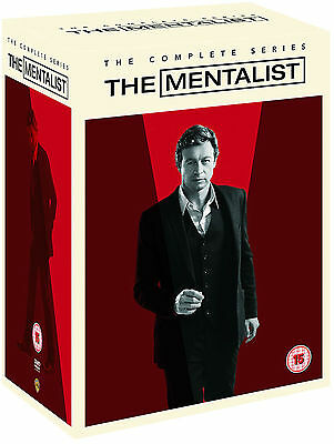 THE MENTALIST - Complete Series 1-7 Collection Boxset (NEW DVD)