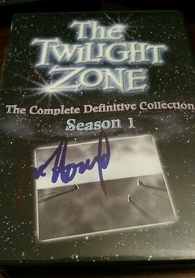 Ron Howard Signed The Twilight Zone Definitive Complete Collection Set All Here!
