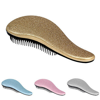 New !!! Professional Detangle Brush Paddle Beauty Healthy Styling Care Hair Comb