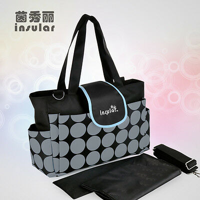 Free Shipping Baby Diaper Bags Multifunctional Nappy Bags Mummy Bags Mommy Bags