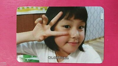 TWICE CHAEYOUNG #2 Official PHOTOCARD Orange Kid 1st Album The Story Begins 채영
