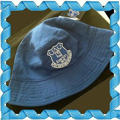 Official Everton Reversible Sun Hat/Fishermans Hat Navy & Royal Adults