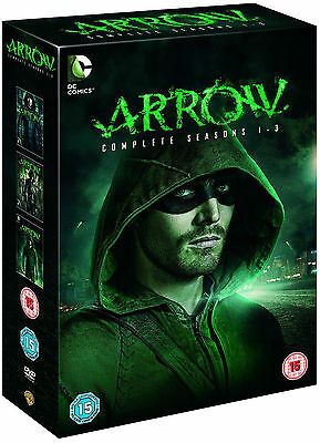 ARROW - Complete Series 1-3 Collection Boxset (NEW DVD)