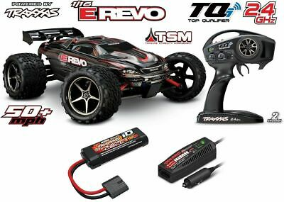 Traxxas E-Revo VXL 1:16 Brushless TQi 2.4GHz Wireless TSM Stabi. System 71076-3