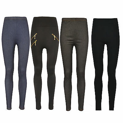 New Look Ladies Girls Women stretchy Skinny Fit Jeggings Leggings Trousers 8-22