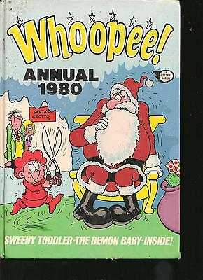 Whoopee! Annual 1980  - British Children's Annual, Uncilipped - Sweeny Toddler