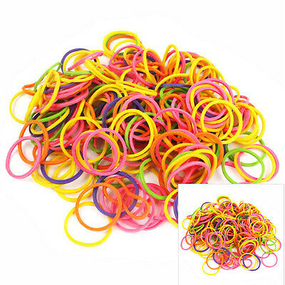 170pcs Rubber Bands for Doll Pet Cat Dog Hair Bows Grooming Accessories