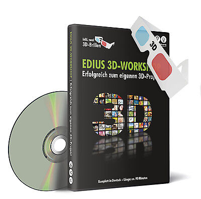 DVD Lernkurs EDIUS 3D-Workshop