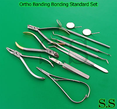 Ortho Banding Bonding Standard Set Up Orthodontic Dentist Dental Instru DN-524