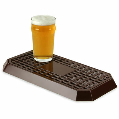 Uni Bar Plastic Drip Tray Brown | Back Bar Drip Tray for Bars Pubs - NEW