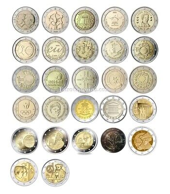 #rm# 2 Euro Commemorative Belgium (2005-2019) -  All Pieces - Please Choose