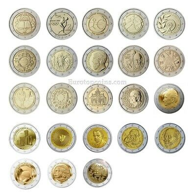 #Rm# 2 Euro Commemorative Greece (2004-2019) -  All Pieces - Please Choose