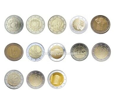#Rm# 2 Euro Commemorative Estonia (2012-2019) -  All Pieces - Please Choose