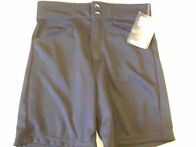 "NOS Vtg '90's--2000 SA Sports Coaches Shorts Size Small 30""-31"" Waist BLACK"
