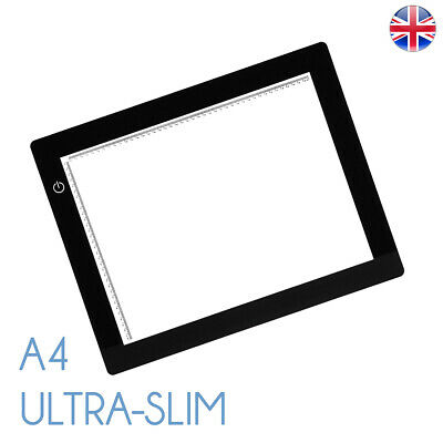 A4 LED Ultra Slim Light Box Dimmable Photographic 5200K
