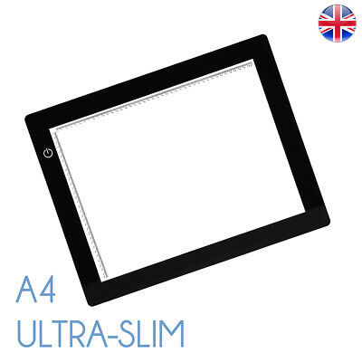 A4 LED Ultra Slim Light Box Dimmable Photographic 5600K Light Panel A4 Lightbox