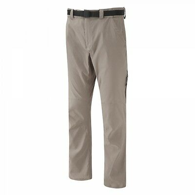 Craghoppers Mens NosiLife Insect Repellent Stretch Walking Trousers Pebble Beige