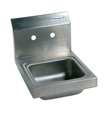 "9"" x 9"" T-304 Stainless Steel Space Saver Hand Sink BBKHS-W-SS"