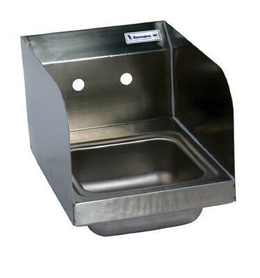 "9"" x 9"" T-304 Stainless Steel Space Saver Hand Sink BBKHS-W-SS-SS"