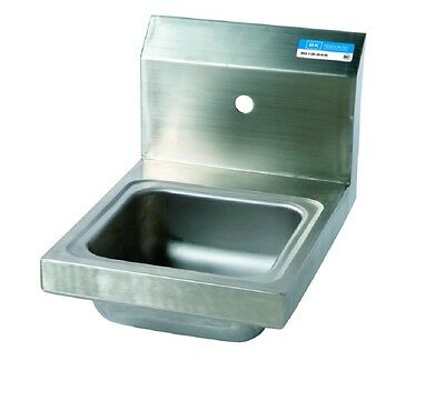 "9"" x 9"" T-304 Stainless Steel Space Saver Hand Sink BBKHS-W-SS-1"