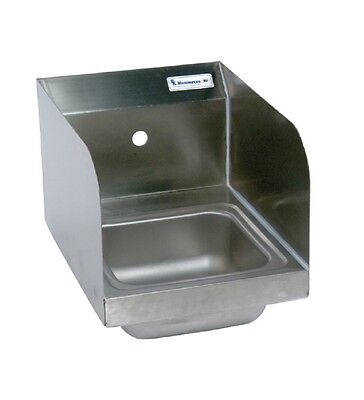 "9"" x 9"" T-304 Stainless Steel Space Saver Hand Sink BBKHS-W-SS-1-SS"