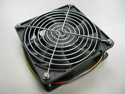 Bitmain Antminer S1 4 PINS 4500 RPM Replacement Fan with Stainless Steel Grill