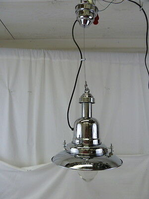 Industrial Nautical Style Chrome Finish Ceiling Fixture Lamp Light