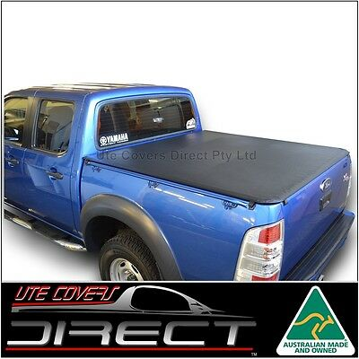 Ford Ranger PJ-PK Ute (2007 to August 2011) Dual Cab ClipOn Tonneau Cover