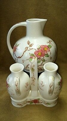 "Vintage Nasco ""Springtime"" Teapot and Cruets made in Japan"