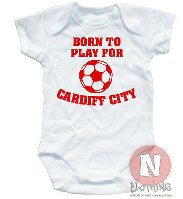 Naughtees Clothing Babygrow I/'m Gloucester Supporter Daddy White Cotton Babysuit