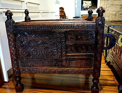 Beautiful 19th Century Swat Valley Dowry Chest
