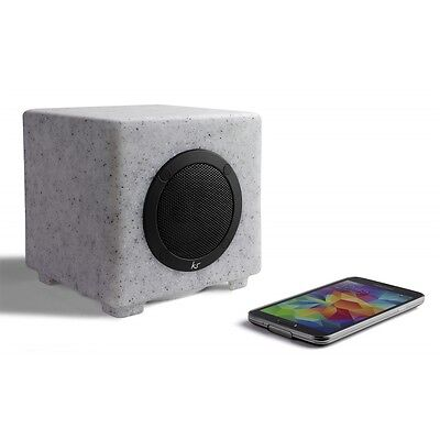 Rock Waterproof Bluetooth Speaker With Built in Light