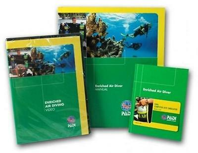 PADI Enriched Air Diving Crew Pack Scuba Diver Computer Training Materials