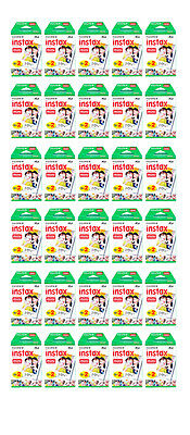 600 Prints (CASE) Fujifilm instax Mini Instant Film for Fuji 25 50s 7s 8 9 70 90