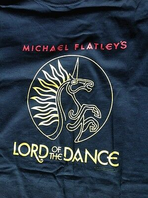 Vintage Michael Flatley's Lord of the Dance T-shirt  Med. Never worn, never wash