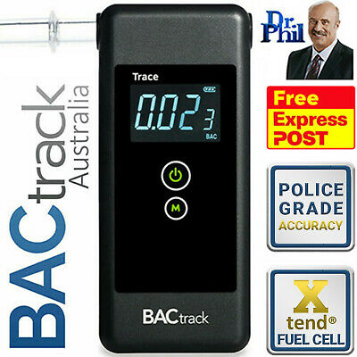 TRACE PRO Breathalyser (BACtrack) Fuel Cell Model. Breath Tester