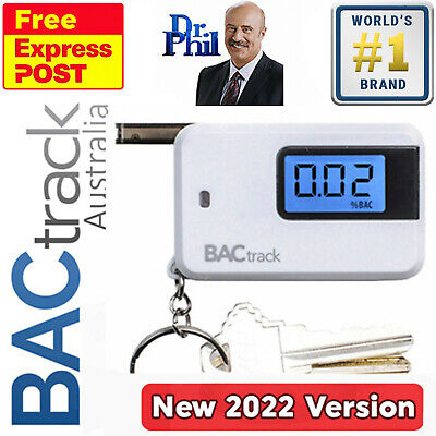 Breathalyser. Alcohol Breath Tester - BACtrack Go Keychain / 100% GENUINE Unit