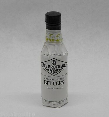 5 oz. Fee Bros OLD FASHIONED Aromatic BITTERS Cocktail Flavoring FREE USA SHIP