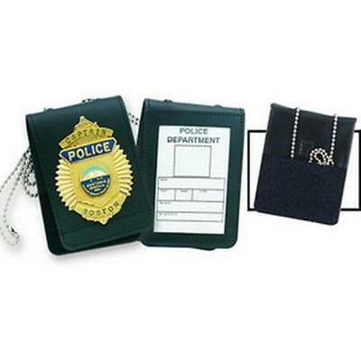 Strong Leather Company Black Universal Badge Case-Id Holder - 71520-0002