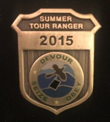Phish-SummerTour Ranger 2015  Pin Sold Out limited edition
