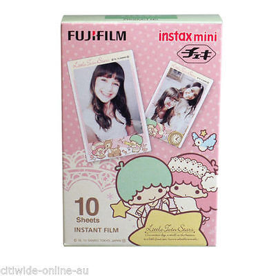 Little Twin Star Fujifilm Fuji Instax Mini Film 10 Sheets for 8 25 50 SP1 90-EU