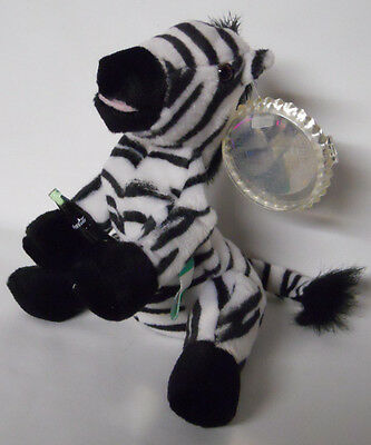 1999 Coca-Cola Nigeria Topus the Zebra Mini Bean Bag-Beanie